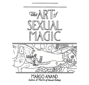 Bleistiftzeichnung Cover The Art of Sexual Magic Margot Anand